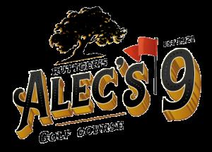 Alec's 9 golf course logo
