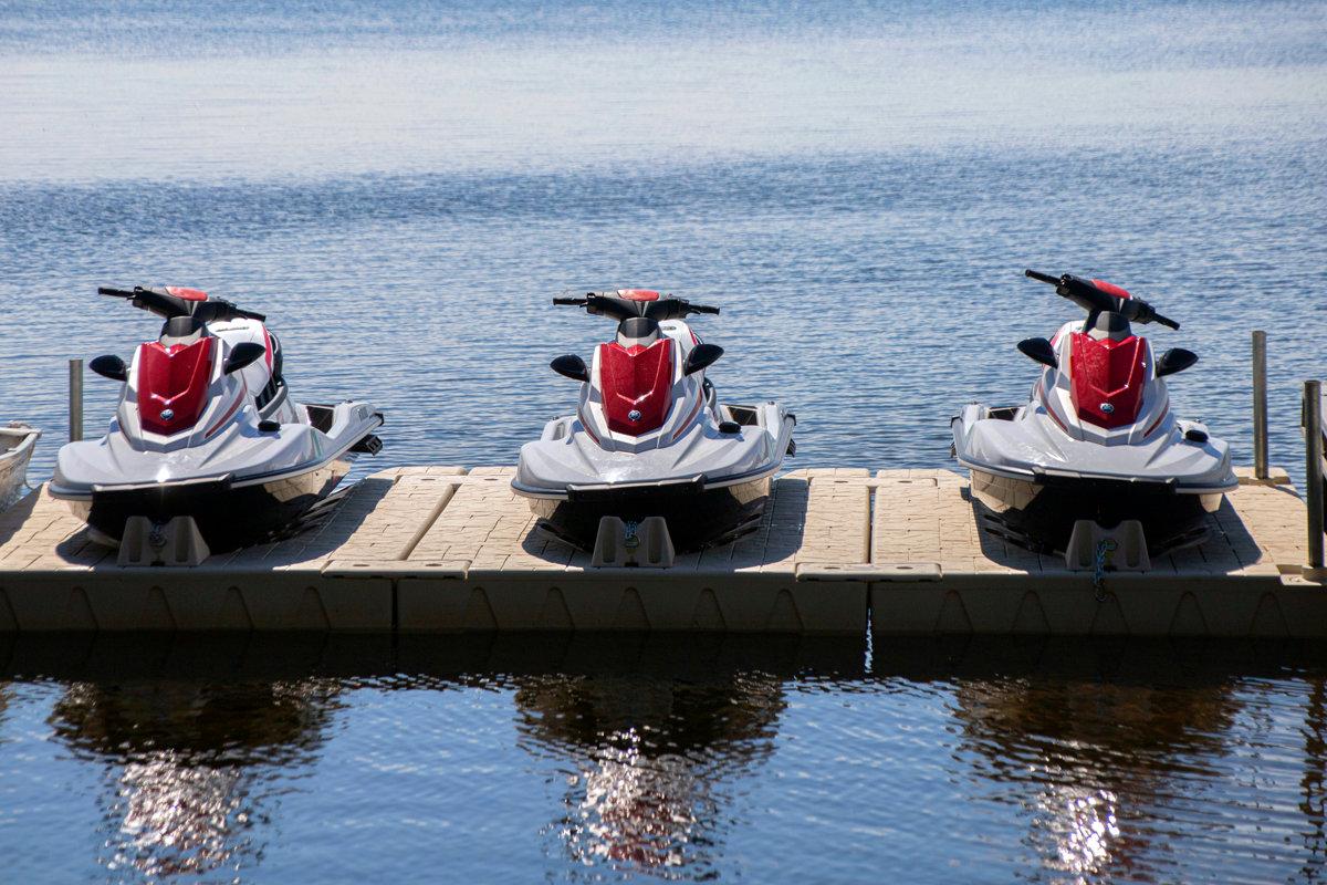 Jet Skis at Ruttger's marina