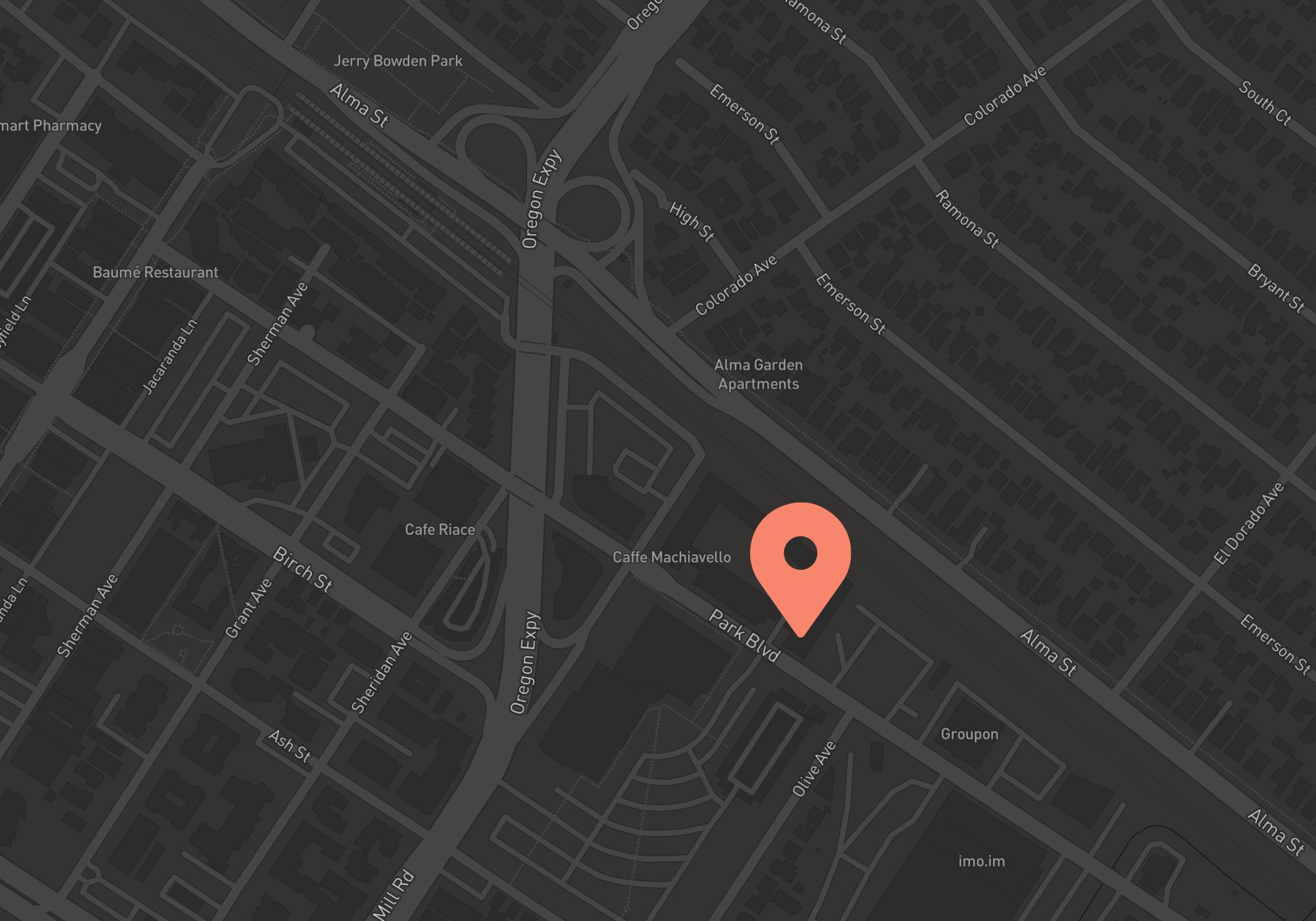 Skyflow office location map