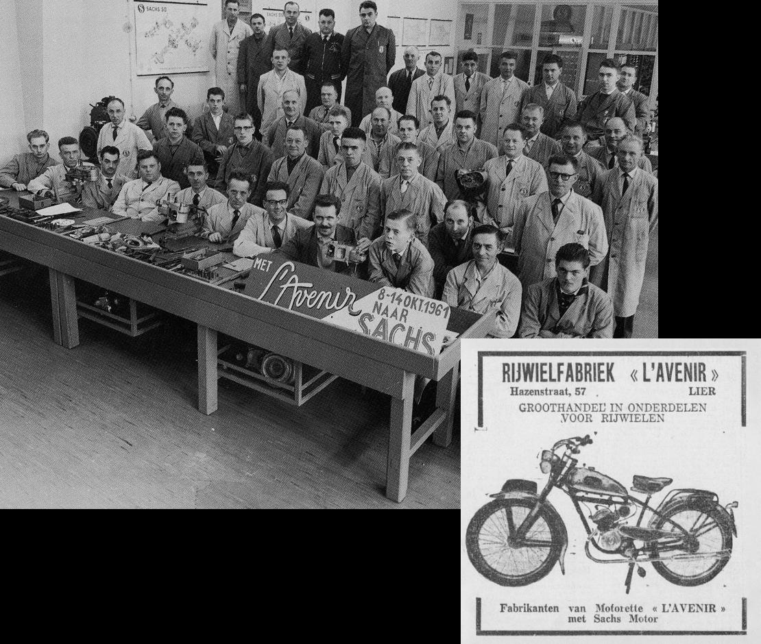 Van motorfietsen naar de 'prescoot', onze eerste e-bike.