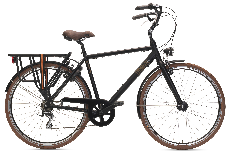 De URBAN combineert een moderne, karaktervolle vormgeving met het gebruiksgemak en comfort van een lage-opstapfiets. Een ontspannen zithouding en brede banden zorgen voor een comfortabele rit door deurban jungle. Kies uit vier gesofisticeerde kleuren die perfect bij deze fietspassen.