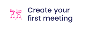 Create your first meeting icon