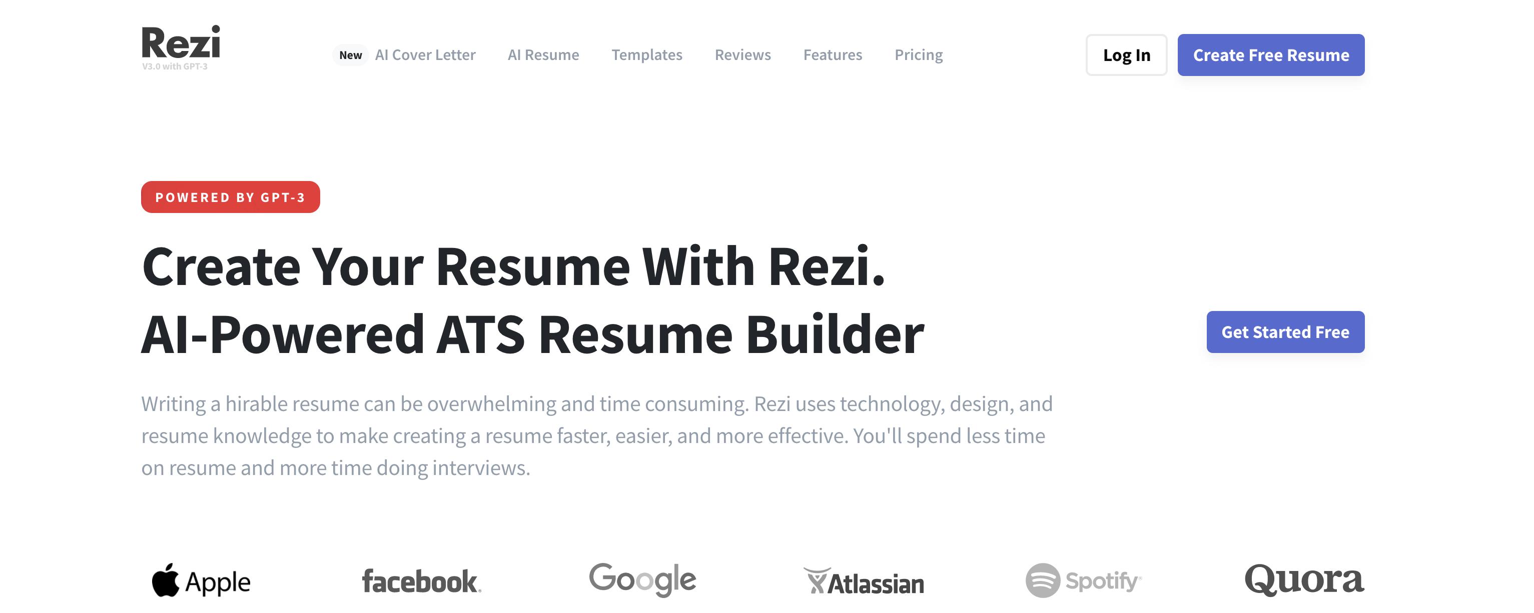 The Rezi Homepage