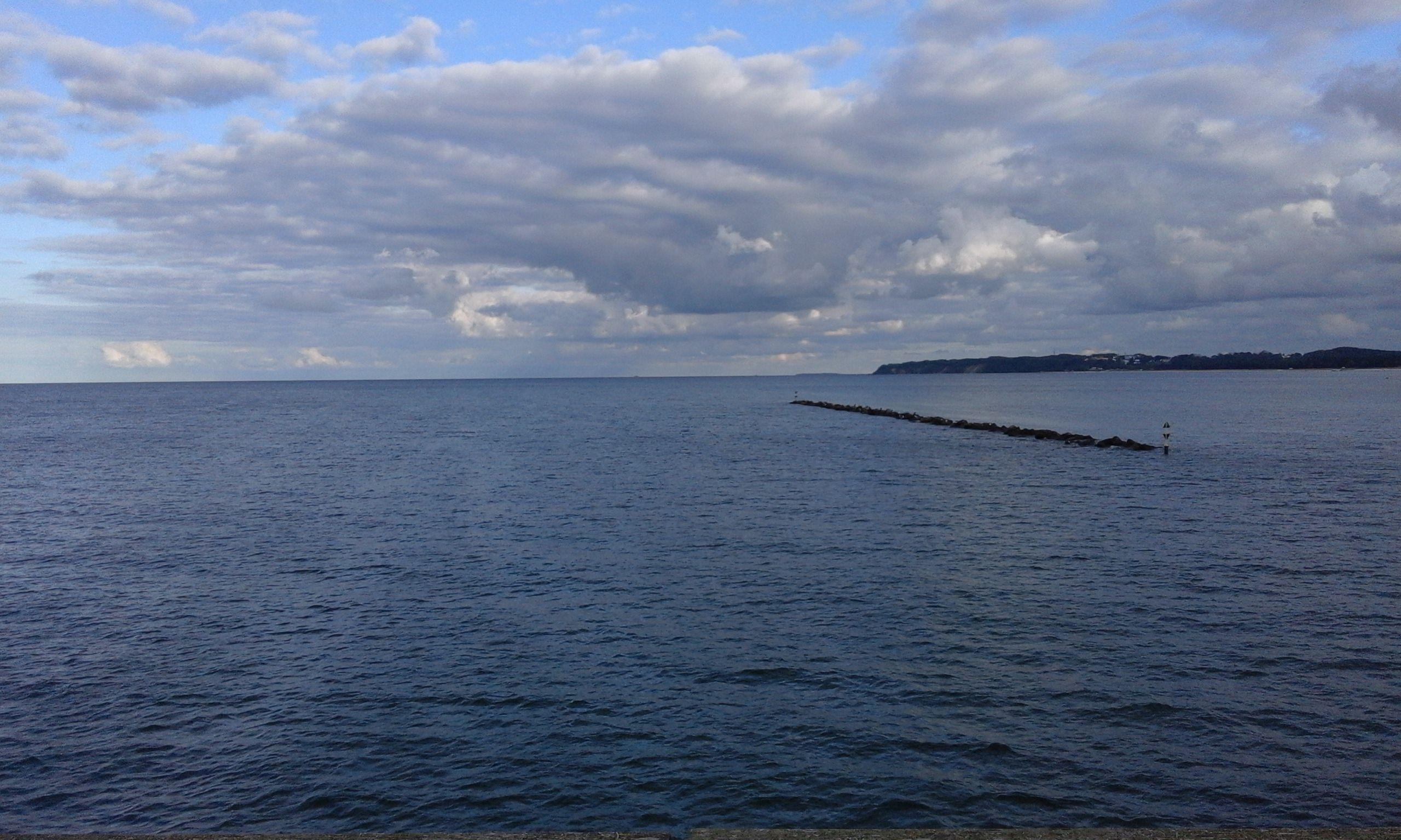 Wasserkreislauf: Wolken über dem Meer