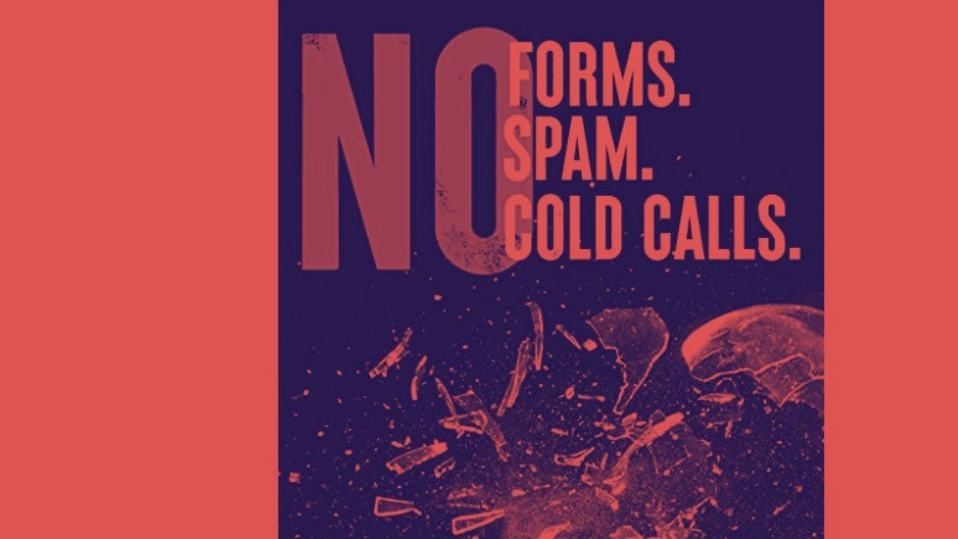 "Treat prospects like humans? ""No Forms. No Spam. No Cold Calls"" teaches marketers how to do just that."
