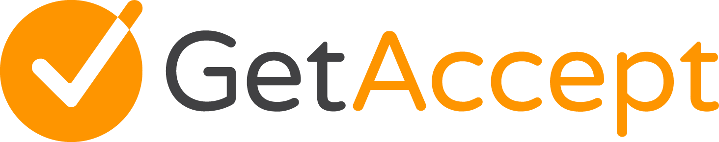 GetAccept company logo.