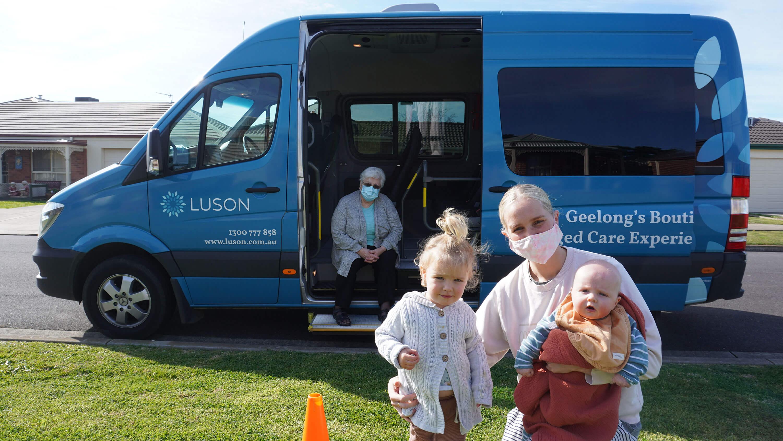 Luson bus on a secret mission