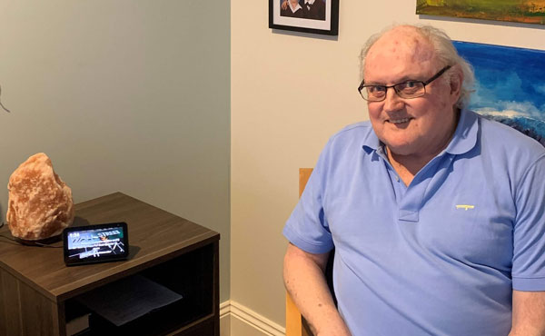 Tech innovation helps in aged care
