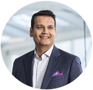 Parag Patel portrait