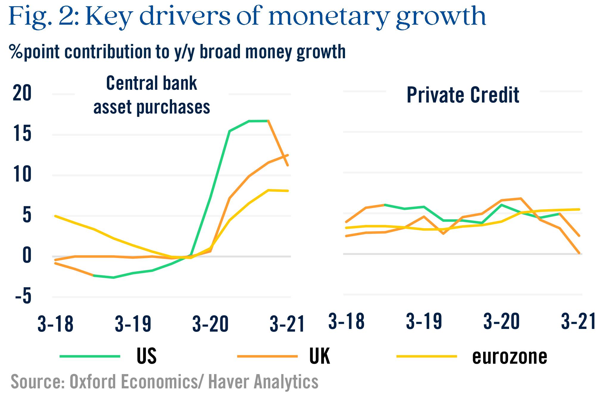 Figure 2 Key drivers of monetary growth