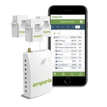 Gen 2 3-PHASE Vue: Whole Home Energy Monitor