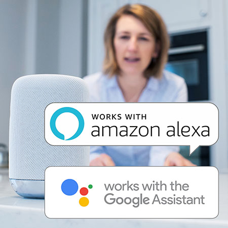 Emporia Smart Plugs work with Amazon Alexa and Google Home Assistant