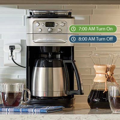 Set Schedules with Emporia Smart Plugs