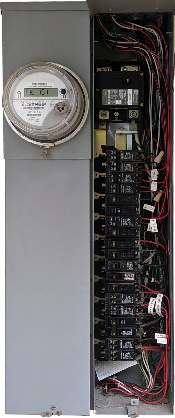 Combination Electrical Panel