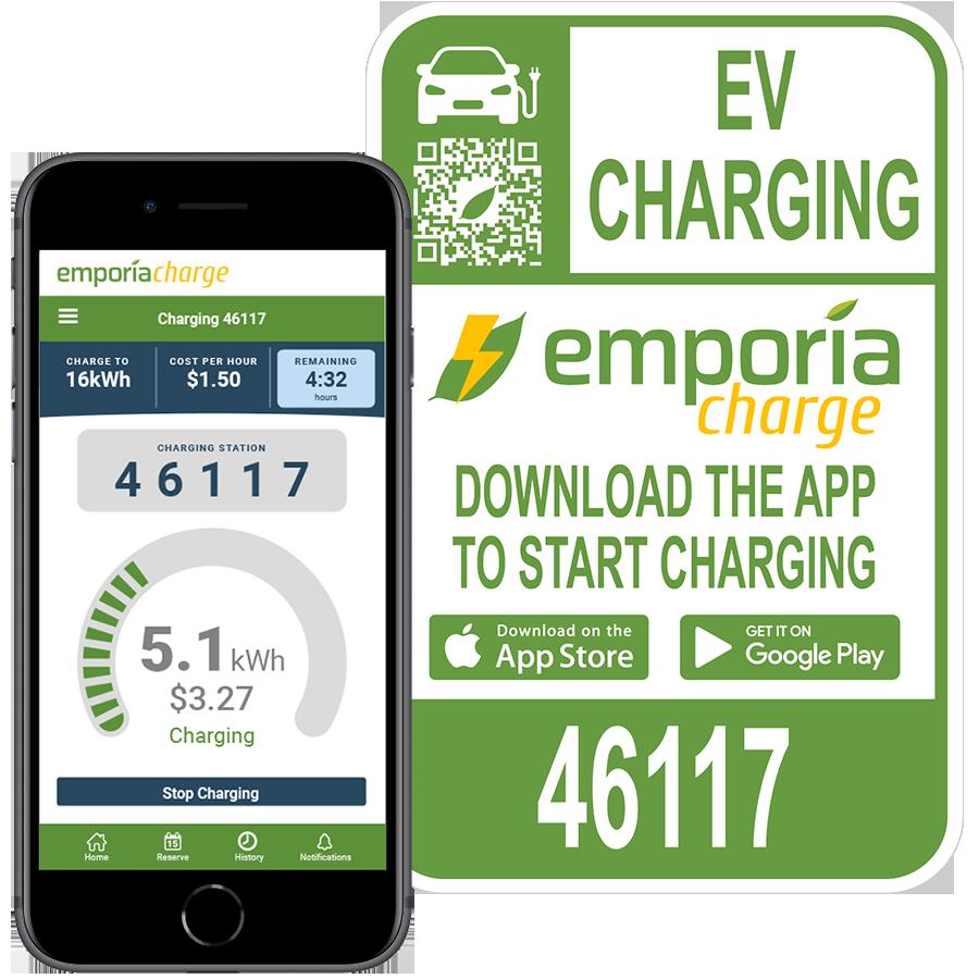 Emporia Charge EV Charging App