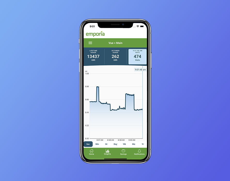 Smart Home Energy Management App
