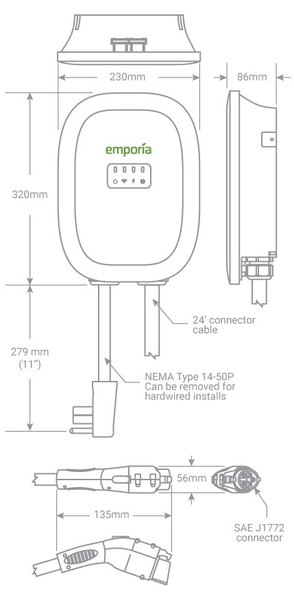 EV Charger Technical Specs
