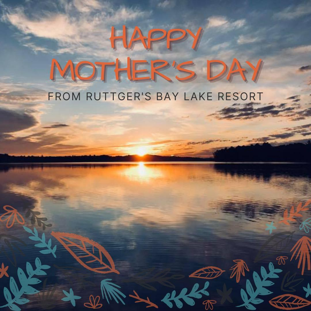 🌸💜Happy Mother's Day from our family to yours!🌸 💜 How are you celebrating today?  #rblr #ruttgersbaylakeresort #deerwoodmn #cuyunalakes #mothersday2021