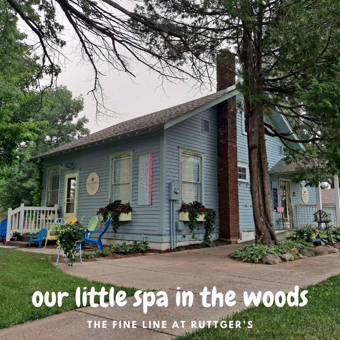 Have you visited our little spa in the woods? 🌲💖 We LOVE The Fine Line! @thefineline444  You don't need to be a resort guest to make an appointment, BOOK YOURS TODAY! 💅💇👣   https://www.ruttgers.com/spa  #rblr #ruttgersbaylakeresort #thefinelinespa #booktoday