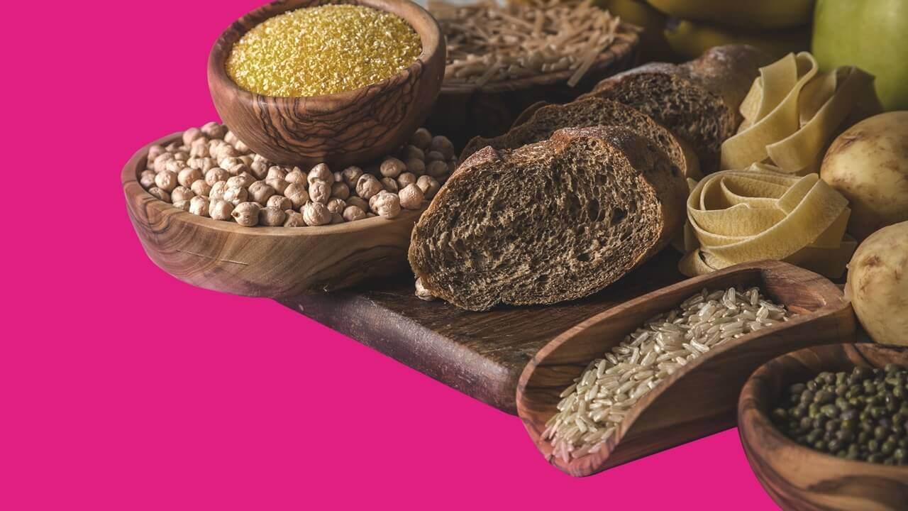 exemplos dos principais tipos de carboidratos