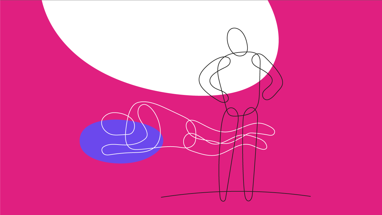ilustração de uma pessoa dormindo profundamente
