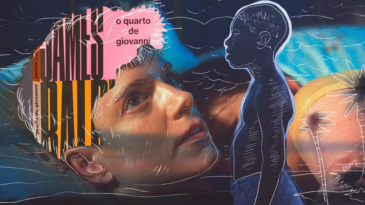ilustração de filmes e livros LGBTQIA+