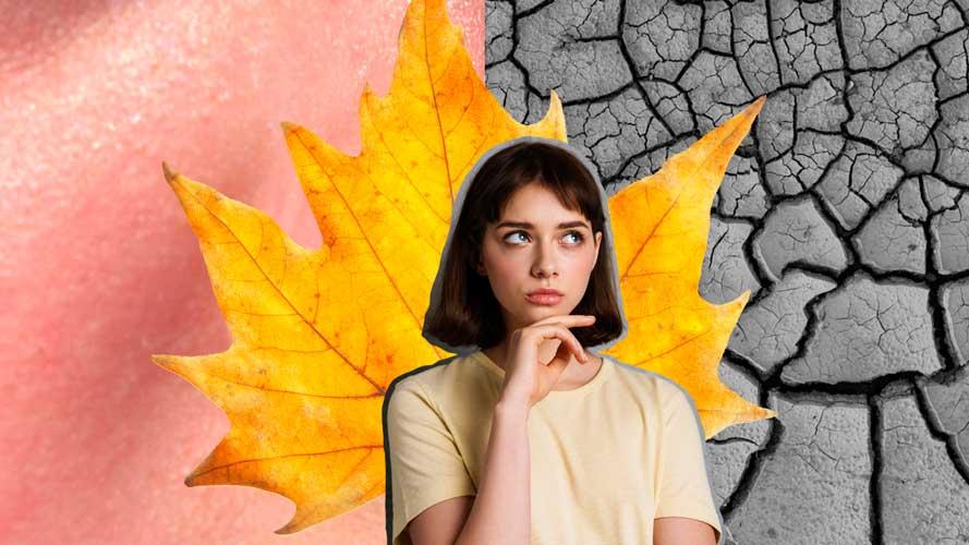 mulher pensando nos efeitos negativos do tempo seco