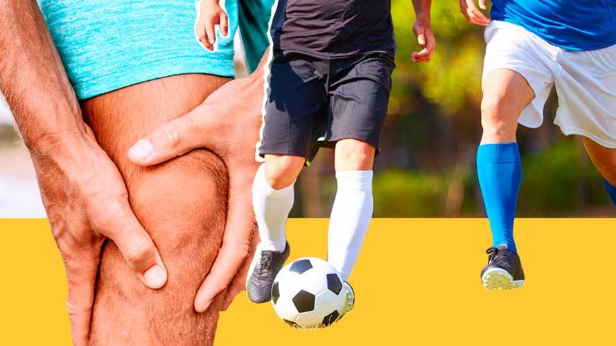 Imagem de dor no joelho
