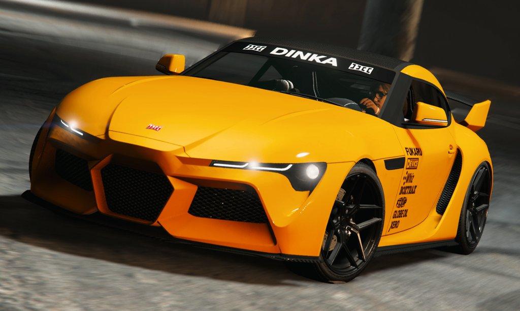 Dinka Jester RR(Los Santos Tuners) GTA
