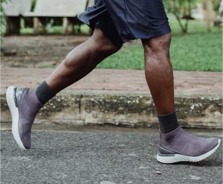 Jogger Füße