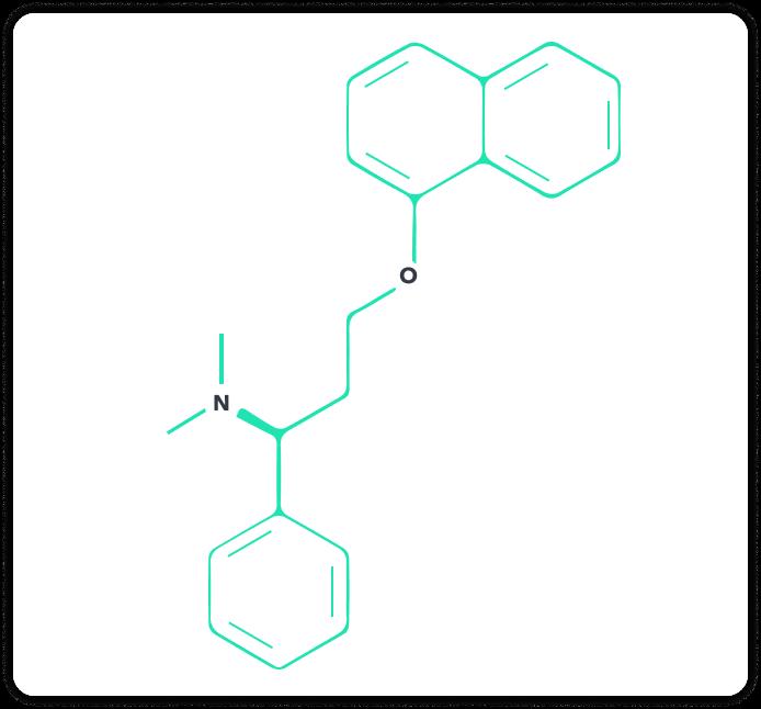 Strukturformel von Dapoxetin   Spring