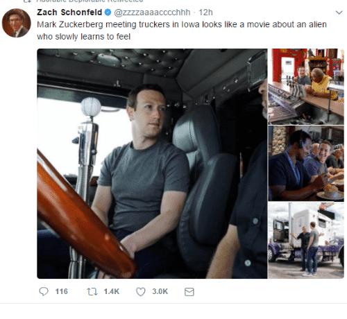 Image result for zuckerberg alien meme