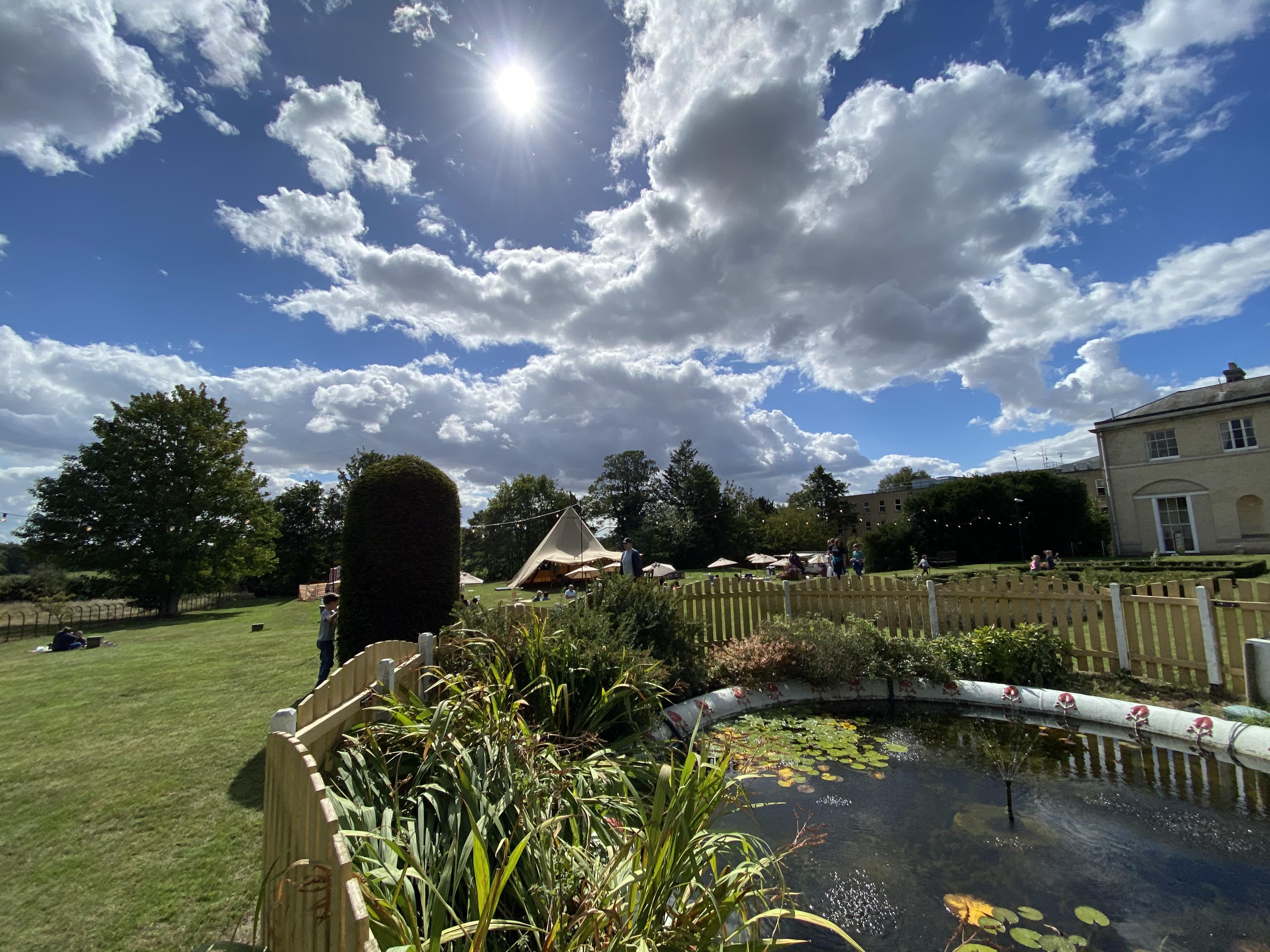 Wherstead Park Garden View Summer 2020