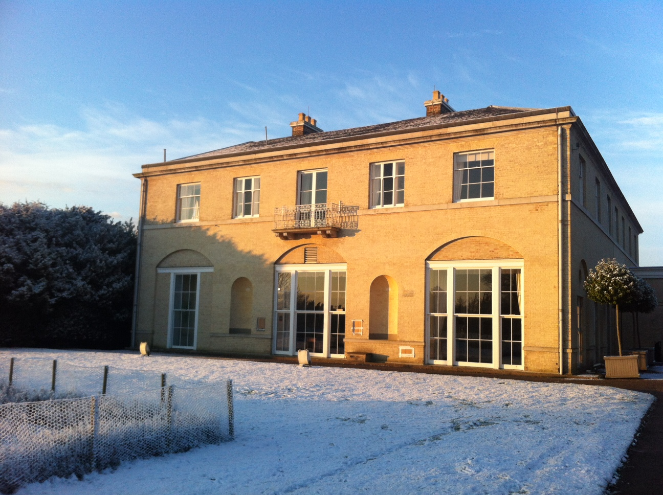 The Mansion in Winter