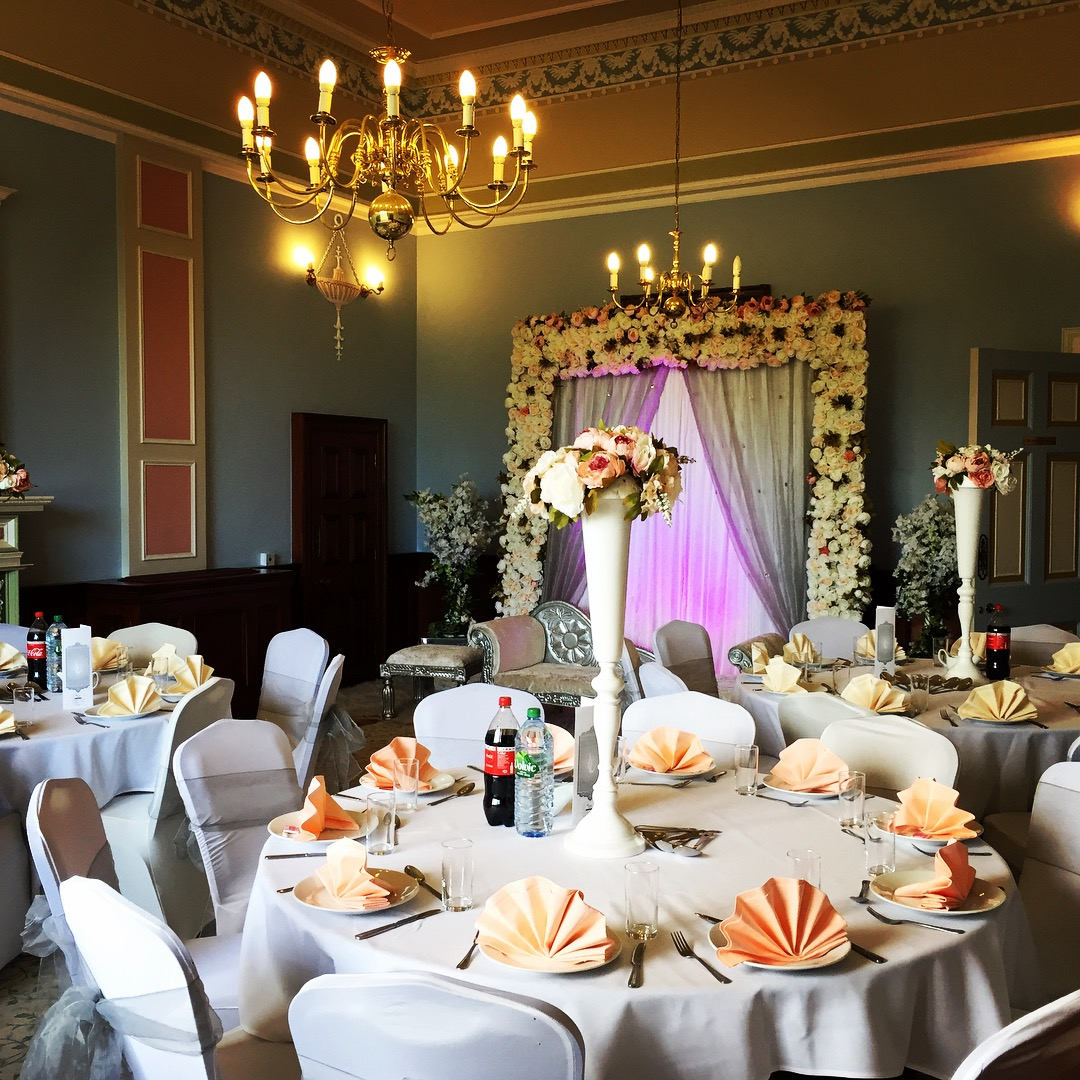 Cultural wedding Harland room