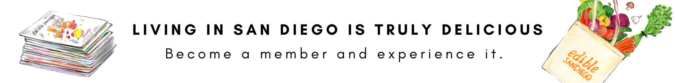 Fall 2021 Membership Campaign (San Diego is delicious)