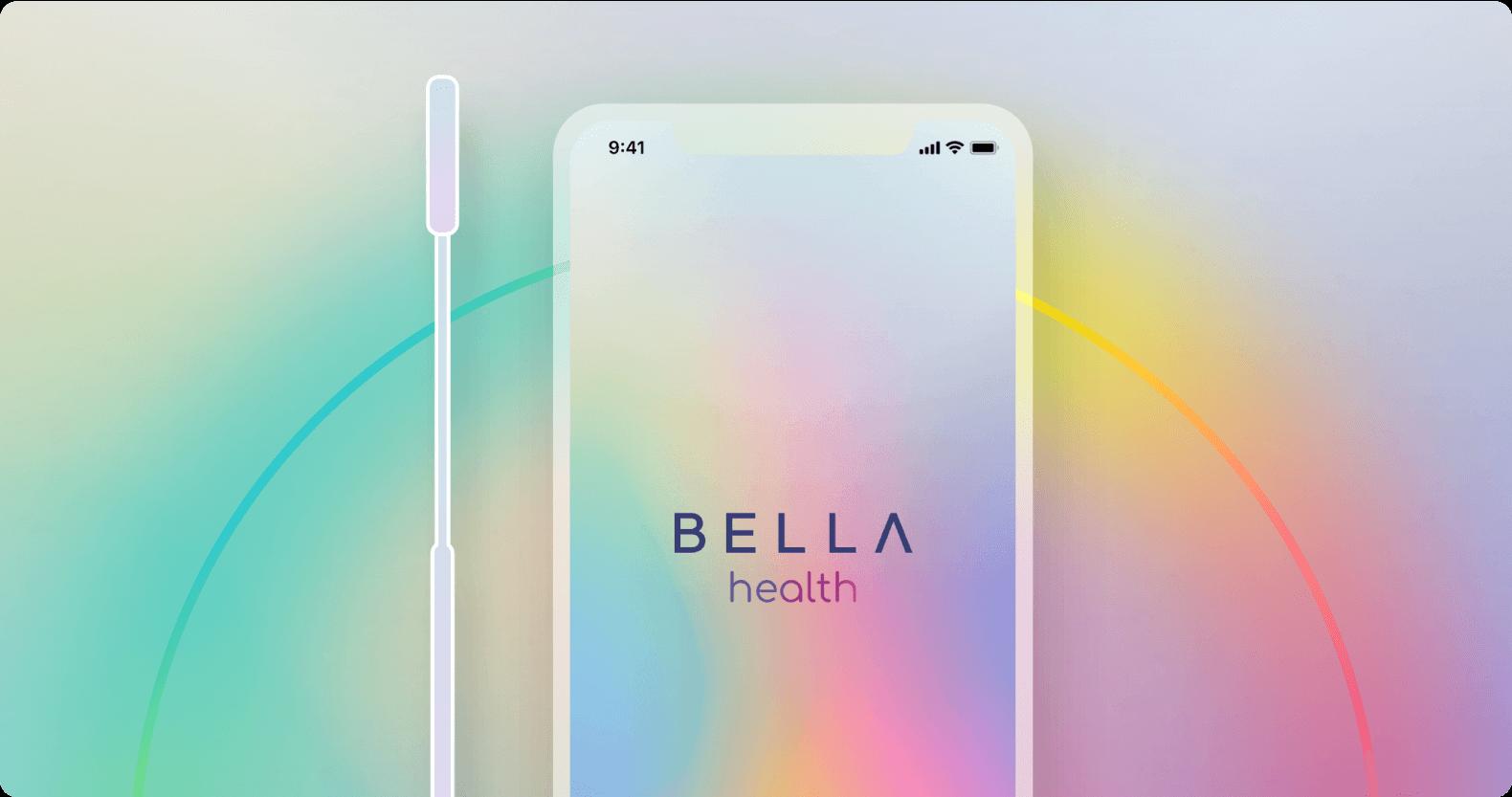 Bella Health app illustration