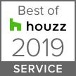 Houzz Awards 2019 Best of Service Award Badge