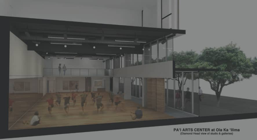 Pa'i Arts Gallery and Performing Arts Center Rendering