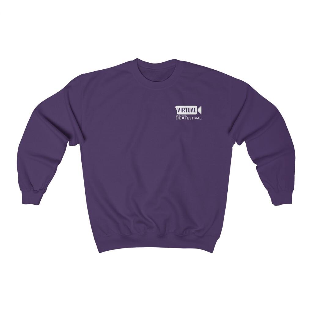 Deafestival Fleece Sweatshirt