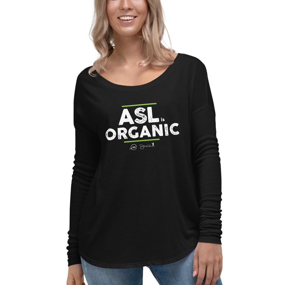 ASL is Organic Flowy Long Sleeve Shirt