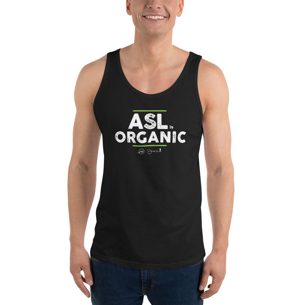 ASL is Organic Unisex Tank Top
