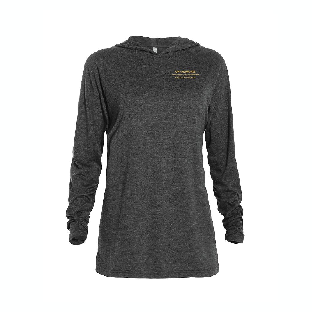 UWM-ASL Raglan Hoodie T-Shirt