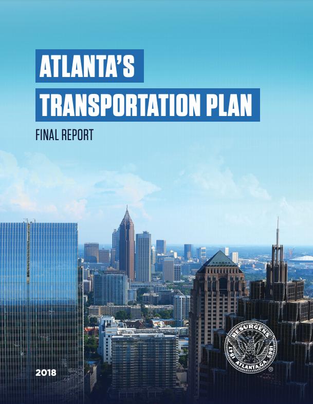 Atlanta Transportation Plan - History