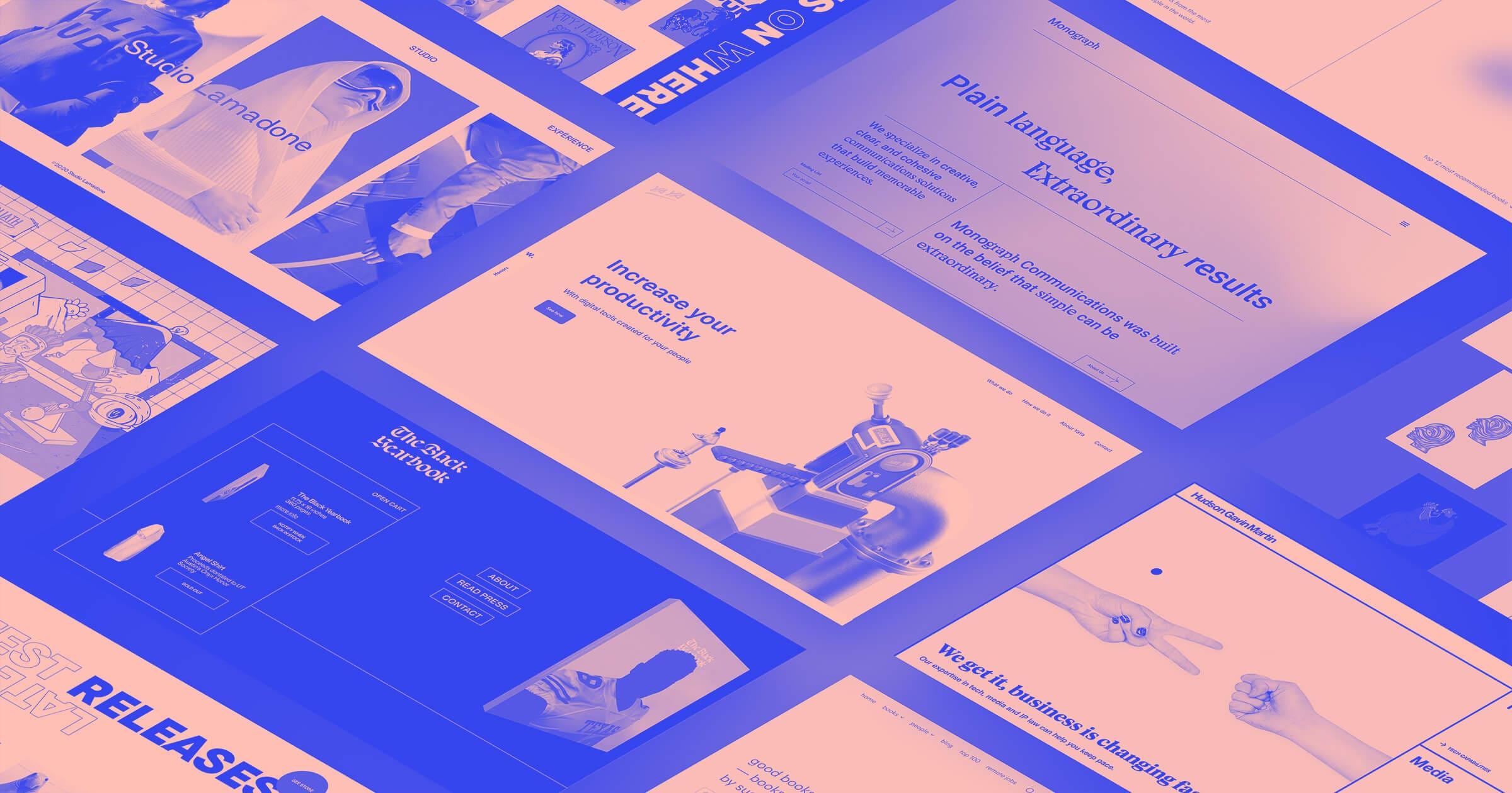 21 Unique Web Design Trends For 2021 Webflow Blog