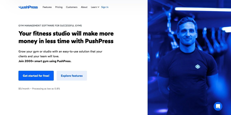 pushpress website