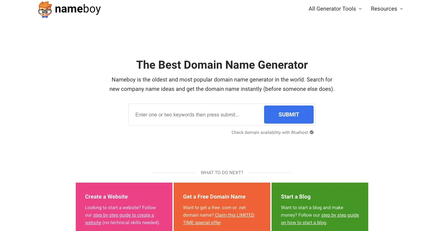 nameboy domain generator