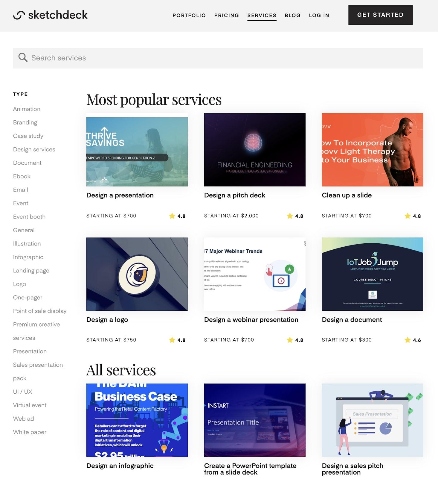 sketchdeck website