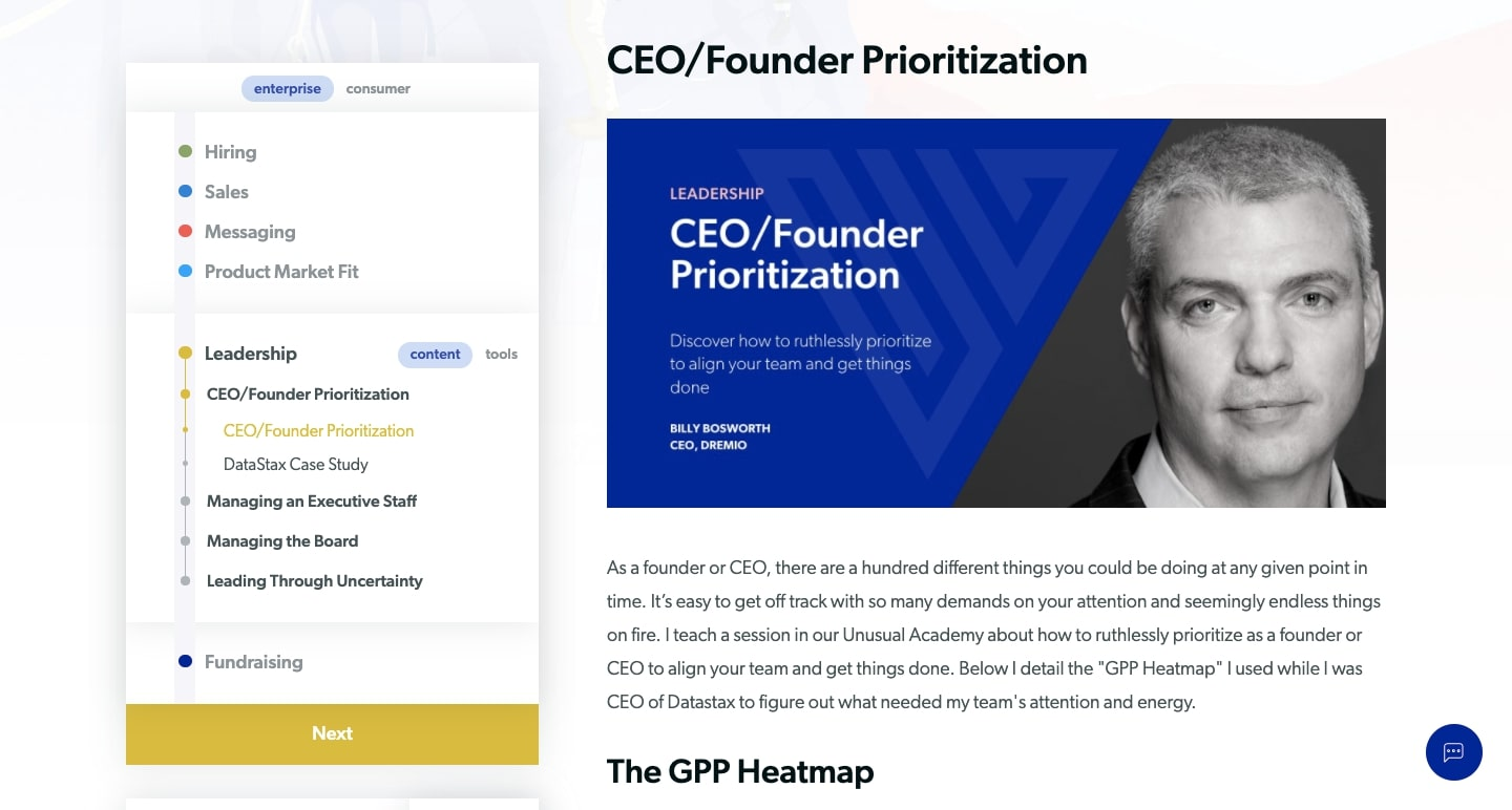 field guide for ceo/founder prioritization