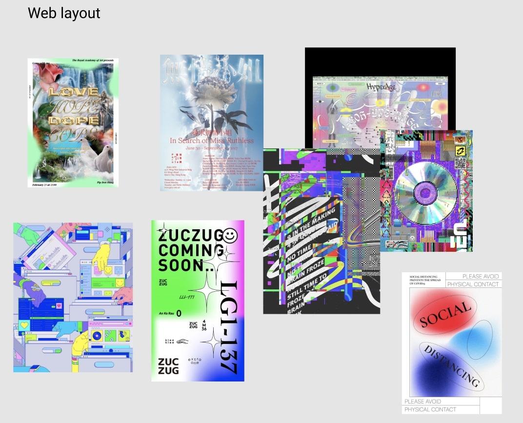 moodboard for website design